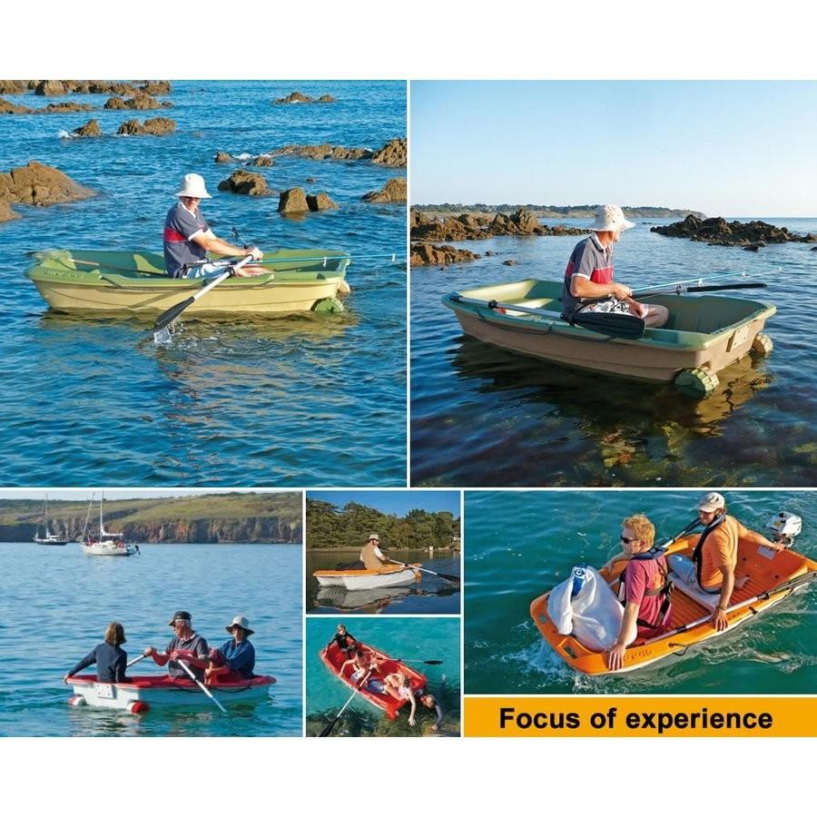 【送料無料対象外】ボート 3人乗りボート SPORTYAK245 【西濃運輸営業所止め配送】 レジャーボート ドーリー 2馬力 免許不要 BIC SPORT|shop-hood|16