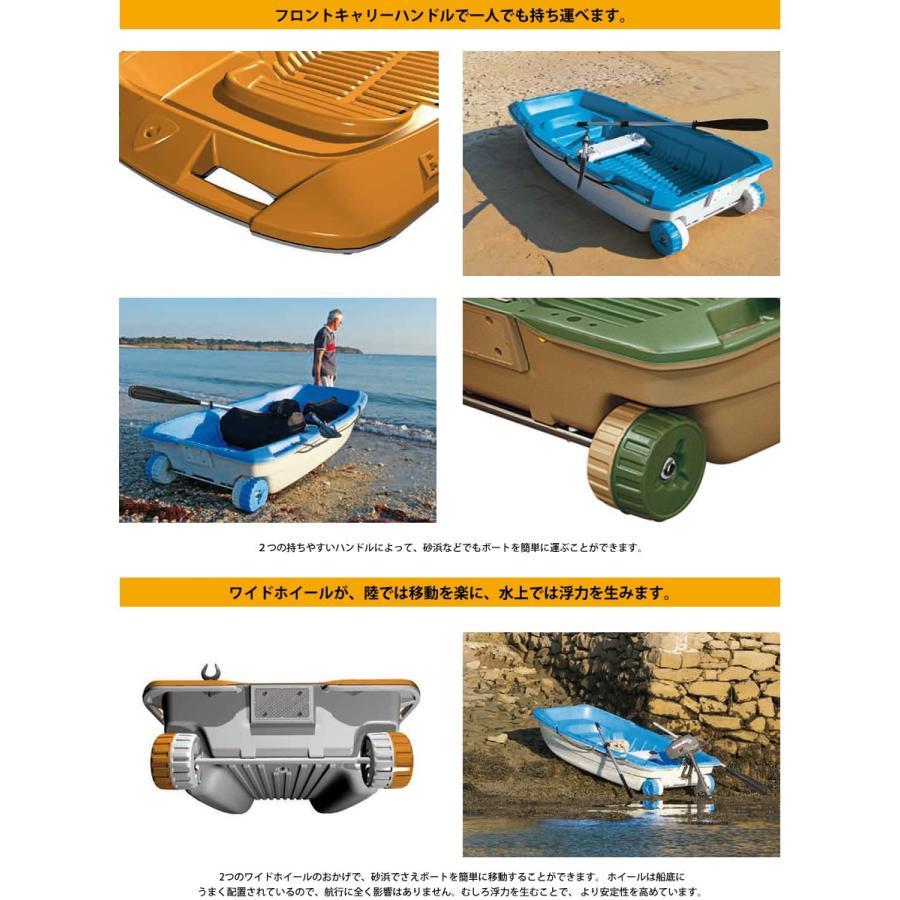 【送料無料対象外】ボート 3人乗りボート SPORTYAK245 【西濃運輸営業所止め配送】 レジャーボート ドーリー 2馬力 免許不要 BIC SPORT|shop-hood|08