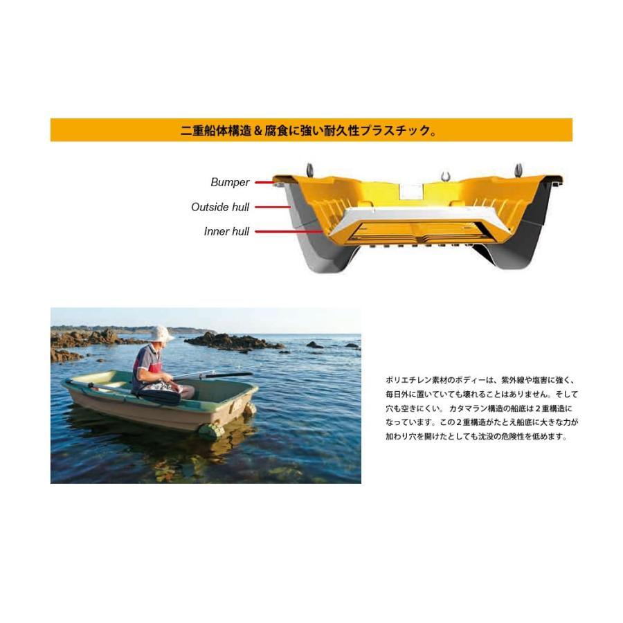 【送料無料対象外】ボート 3人乗りボート SPORTYAK245 【西濃運輸営業所止め配送】 レジャーボート ドーリー 2馬力 免許不要 BIC SPORT|shop-hood|10