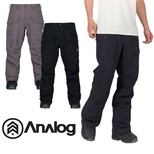 【5%還元】アナログ ウェア パンツ ANALOG スノボ スキーウェア スノーボード CONTRACT PT 0925A