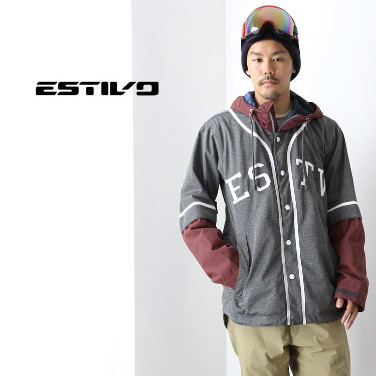 【5%還元】スノーボード ウェア 上下セット エスティボ ESTIVO SET-21 メンズ スノボ スノボー