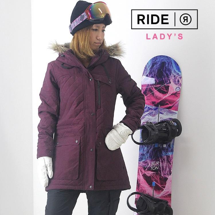 【5%還元】ライド スノーボード レディース ウェア 上下セット RIDE スノーボードウェア ジャケット パンツ スノボウェア スキー W'S SET-50