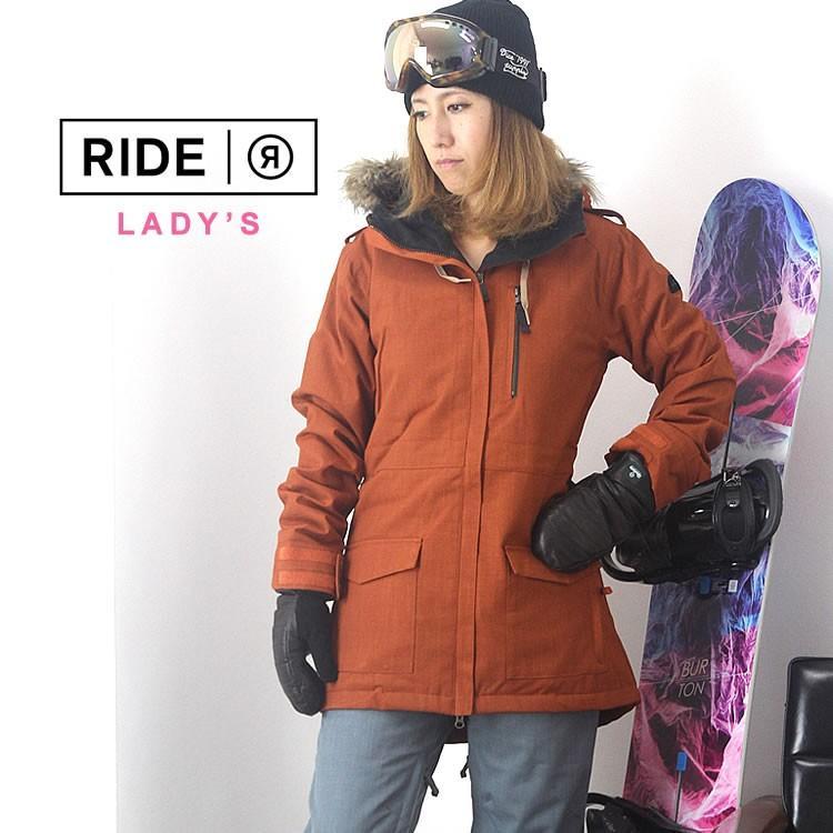 【5%還元】ライド スノーボード レディース ウェア 上下セット RIDE スノーボードウェア ジャケット パンツ スノボウェア スキー W'S SET-58