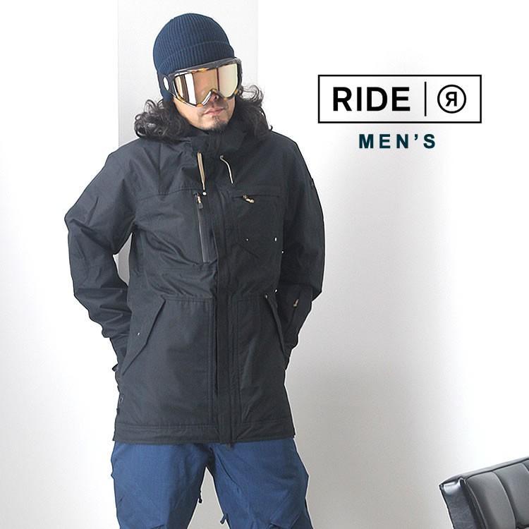 【5%還元】ライド ウェア スノーボードウェア ジャケット パンツ スノボウェア スキー メンズ 上下セット RIDE M'S SET-107 0925