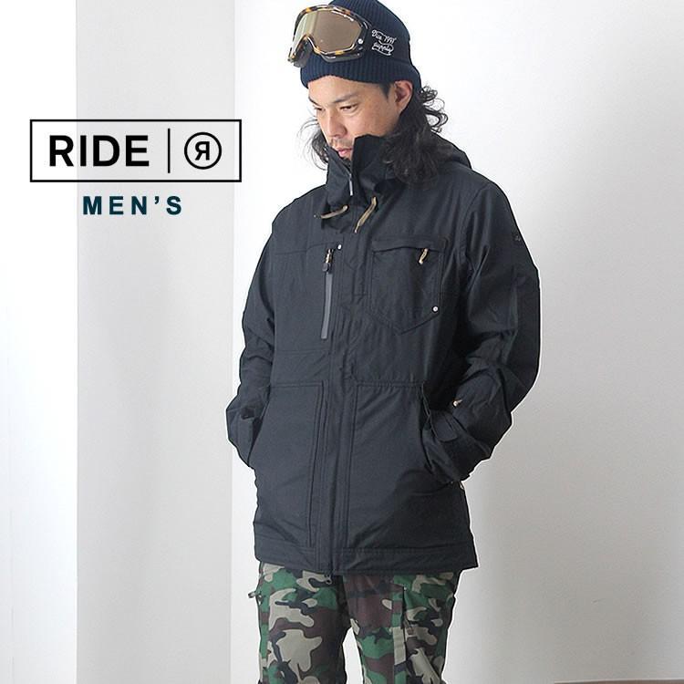 【5%還元】ライド ウェア スノーボードウェア ジャケット パンツ スノボウェア スキー メンズ 上下セット RIDE M'S SET-108 0925