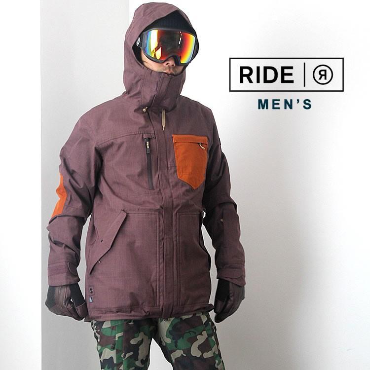 【5%還元】ライド ウェア スノーボードウェア ジャケット パンツ スノボウェア スキー メンズ 上下セット RIDE M'S SET-111 0925