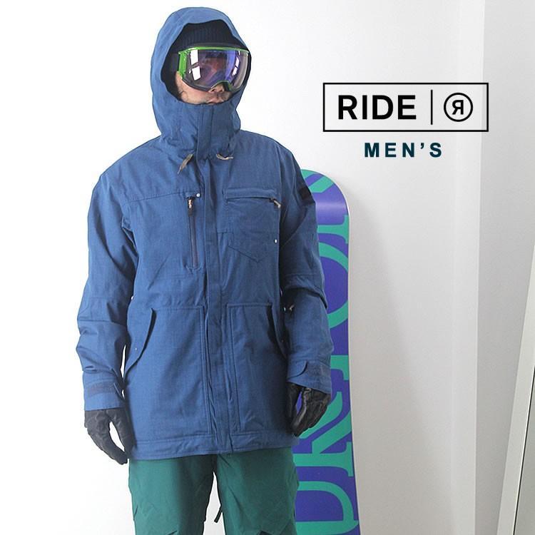 【5%還元】ライド ウェア スノーボードウェア ジャケット パンツ スノボウェア スキー メンズ 上下セット RIDE M'S SET-116 0925