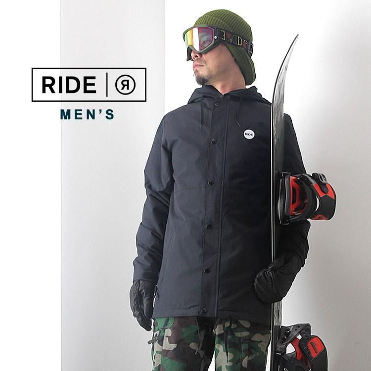 【5%還元】ライド ウェア スノーボードウェア ジャケット パンツ スノボウェア スキー メンズ 上下セット RIDE M'S SET-124 0925