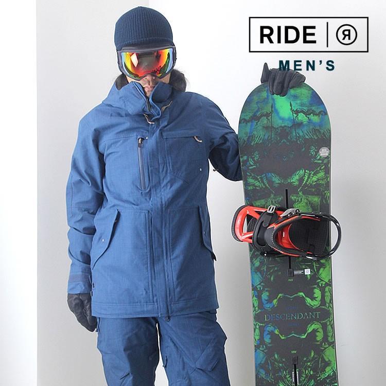【5%還元】ライド ウェア スノーボードウェア ジャケット パンツ スノボウェア スキー メンズ 上下セット RIDE M'S SET-163 0925