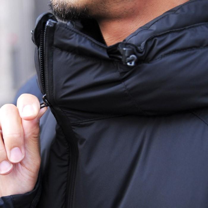 送料無料  マニュアルアルファベット ナンガ NANGA ダウンジャケット メンズ ダウン 黒 ブラック オリーブ カーキ アウター 防寒 日本製|shop-kandj|04