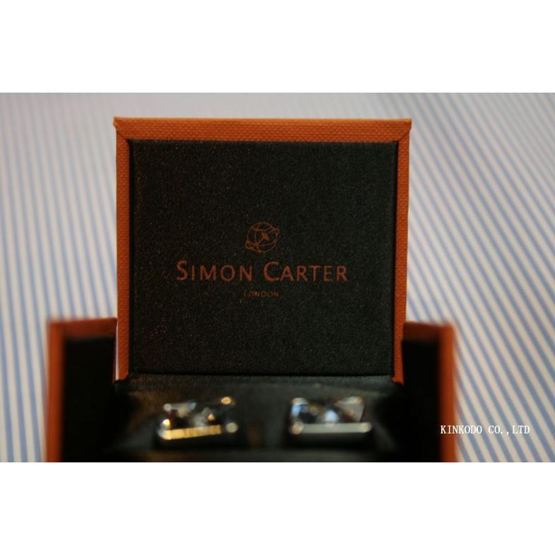 カフス・カフリンクス SIMON CARTER サイモン・カーターのスワロフスキー バブル(ブルー)|shop-kinkodo|09