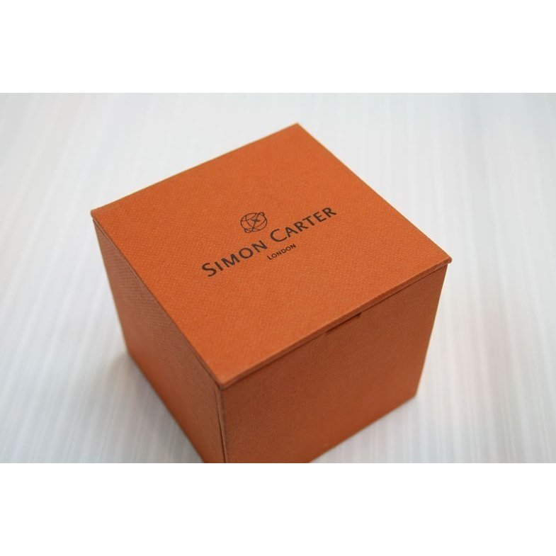 カフス・カフリンクス SIMON CARTER サイモン・カーターのスワロフスキー バブル(ブルー)|shop-kinkodo|10