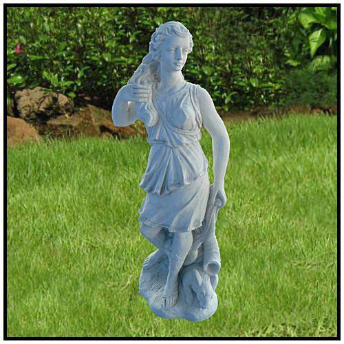 ダイアナ像H132cm イタリア製洋風庭園 大型ヴィーナス石像 / イタルガーデン社 ST0180
