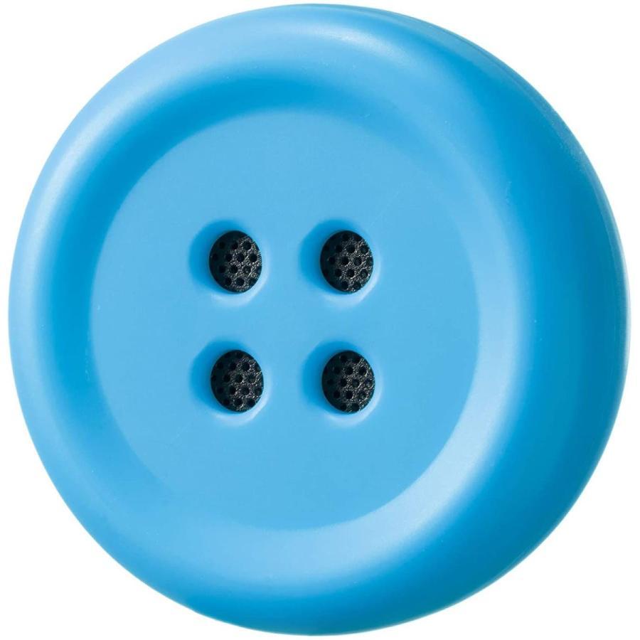 Pechat(ペチャット) ブルー ぬいぐるみをおしゃべりにするボタン型スピーカー【英語にも対応】|shop-nft|04