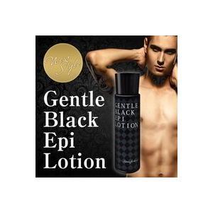 アフターシェーブローション メンズ 青髭  【GENTLE BLACK EPI LOTION (ジェントルブラックエピローション)】髭 ヒゲローション フェイスケア ローション 青髭|shop-primetown
