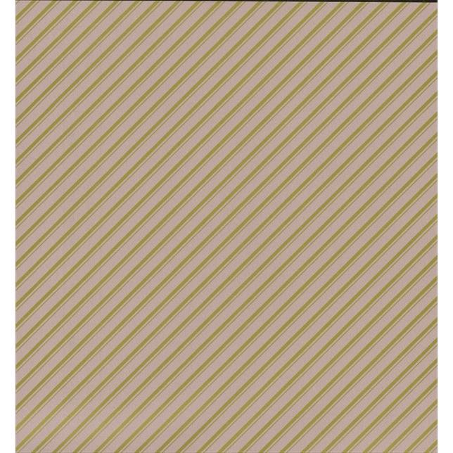 ラッピングペーパー(包装紙) No693(ストライプ 茶) ハトロン半才判 500枚