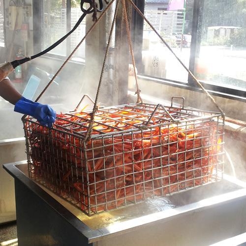 香住産 茹で香住がに 小 約400g ベニズワイガニ 紅ずわいがに 紅ズワイガニ 香住ガニ カニ かに 蟹 お取り寄せ 産地直送 ギフト|shop-syukuin|06