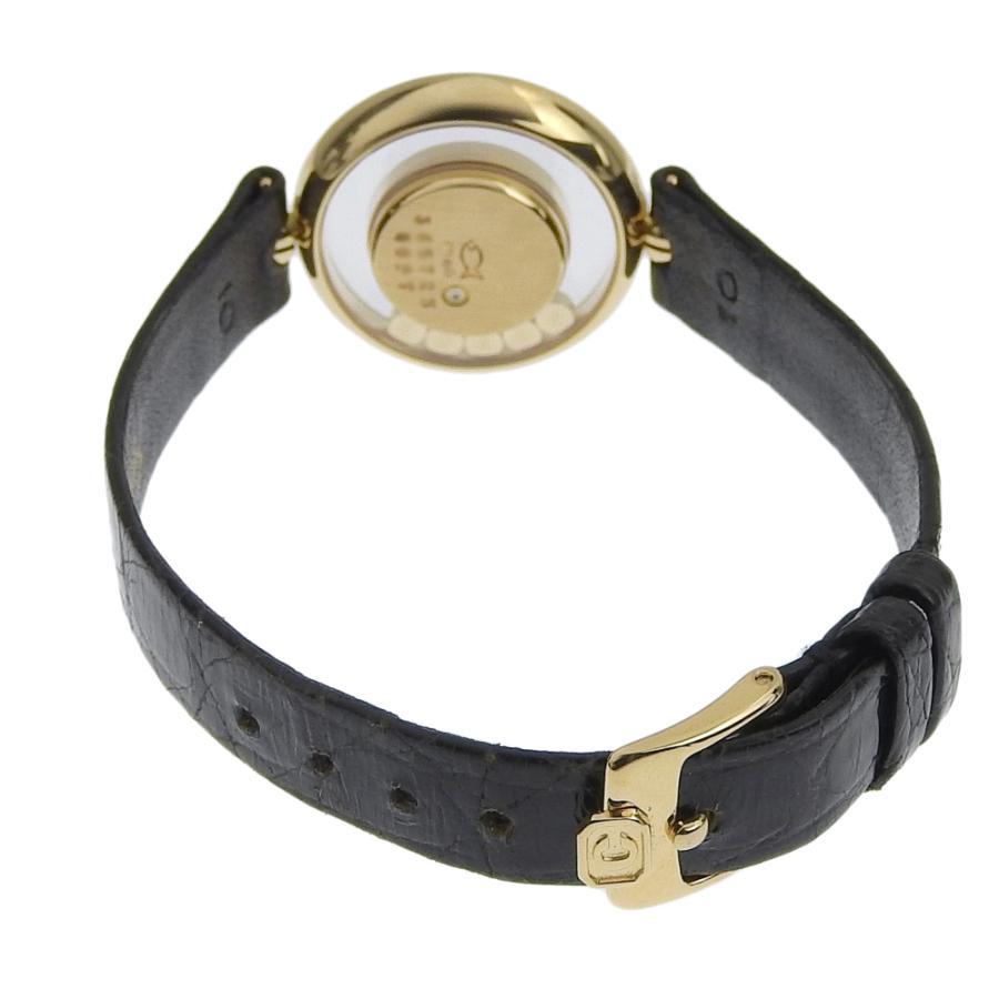 ショパール CHOPARD ハッピーダイヤモンド レディース クォーツ 電池 腕時計 20 3957 約18.5g ベゼルダイヤ ダイヤ5個 本物保証 超美品|shop-takashimaya7|04