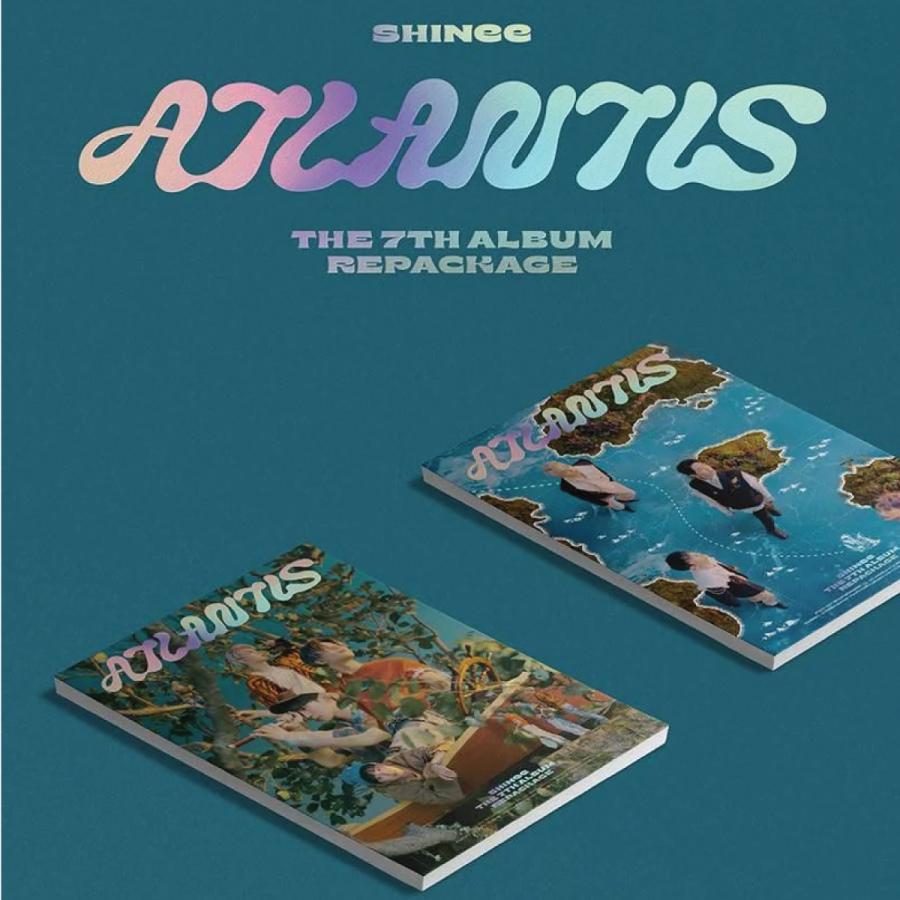 【2種セット】【全曲和訳】SHINEE ATLANTIS 7th Repackage シャイニー アトランティス 7集 リパッケージ【レビューで生写真5枚 宅配便】 shop11