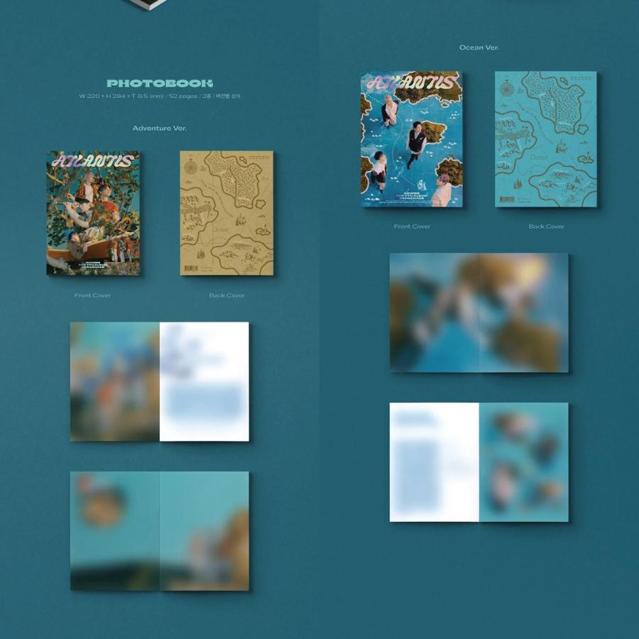 【2種セット】【全曲和訳】SHINEE ATLANTIS 7th Repackage シャイニー アトランティス 7集 リパッケージ【レビューで生写真5枚 宅配便】 shop11 02