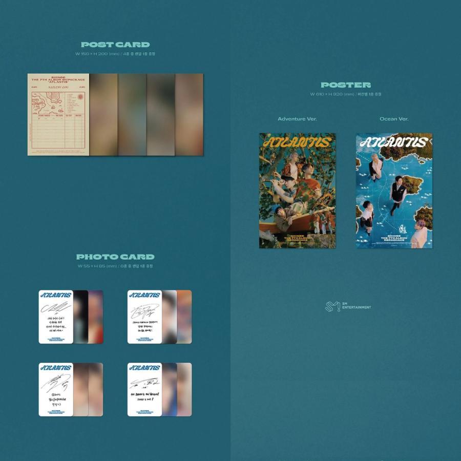 【2種セット】【全曲和訳】SHINEE ATLANTIS 7th Repackage シャイニー アトランティス 7集 リパッケージ【レビューで生写真5枚 宅配便】 shop11 04