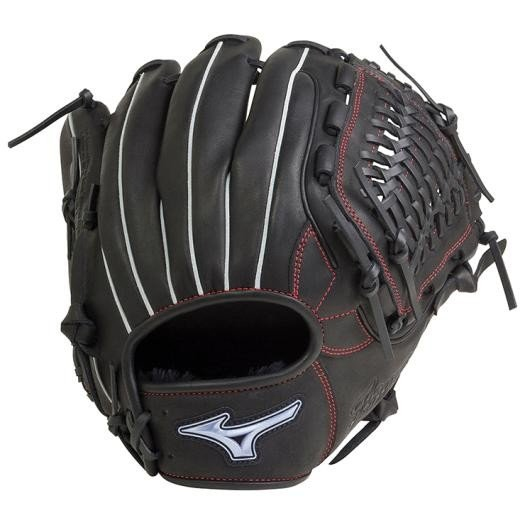 ミズノ ソフトボール グラブ グローブ 内野手用 ファンラップ ef 1AJGS20513 09 ブラック 新製品 深い 広い ポケット