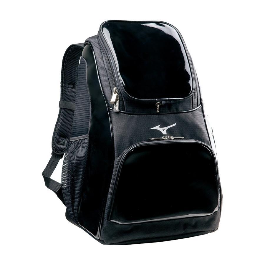 ミズノ 野球 バックパック デイパック リュック 1FJD702009 ブラック