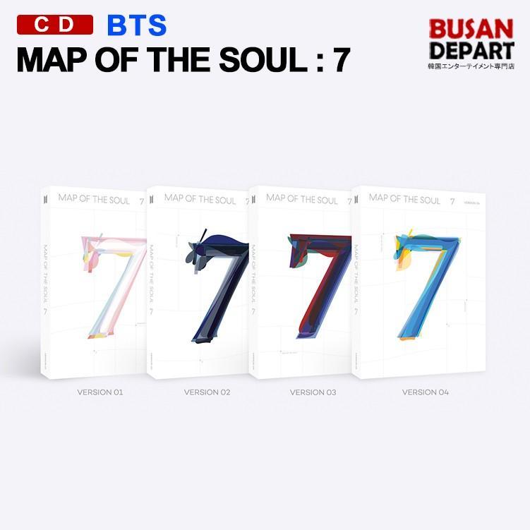 ポスターなしでお得 防弾少年団 [BTS MAP OF THE SOUL : 7] 韓国音楽チャート反映 セブン|shopandcafeo