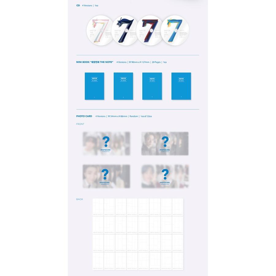 ポスターなしでお得 防弾少年団 [BTS MAP OF THE SOUL : 7] 韓国音楽チャート反映 セブン|shopandcafeo|03