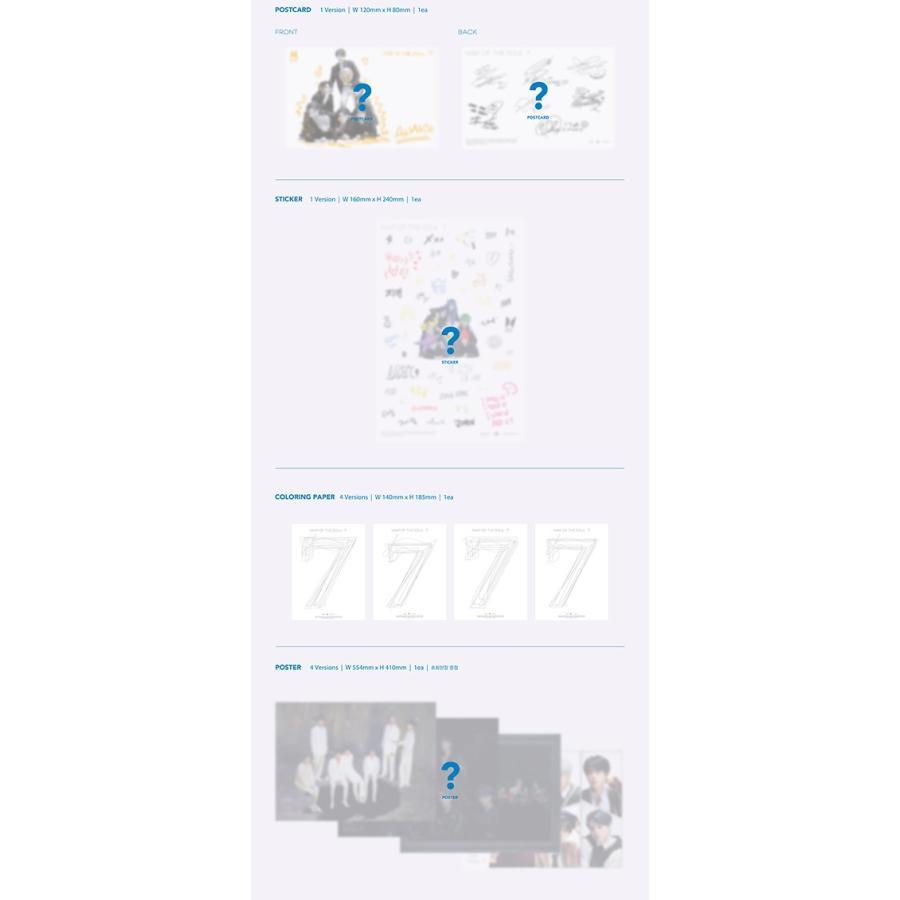 ポスターなしでお得 防弾少年団 [BTS MAP OF THE SOUL : 7] 韓国音楽チャート反映 セブン|shopandcafeo|04