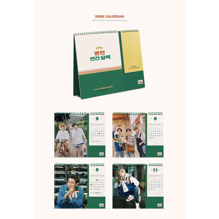 【BTS】【2021 SEASONS GREETINGS】 シーズン グリーティング カレンダー 防弾少年団 1次予約 送料無料 shopandcafeo 05