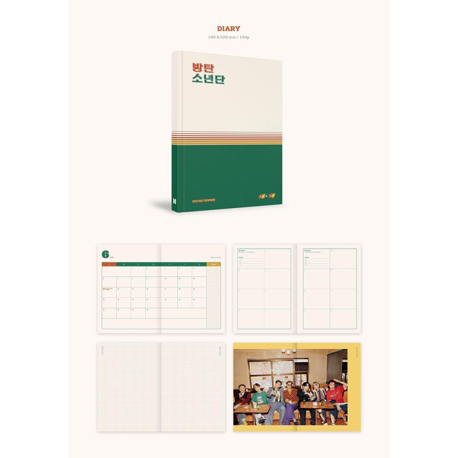 【BTS】【2021 SEASONS GREETINGS】 シーズン グリーティング カレンダー 防弾少年団 1次予約 送料無料 shopandcafeo 06