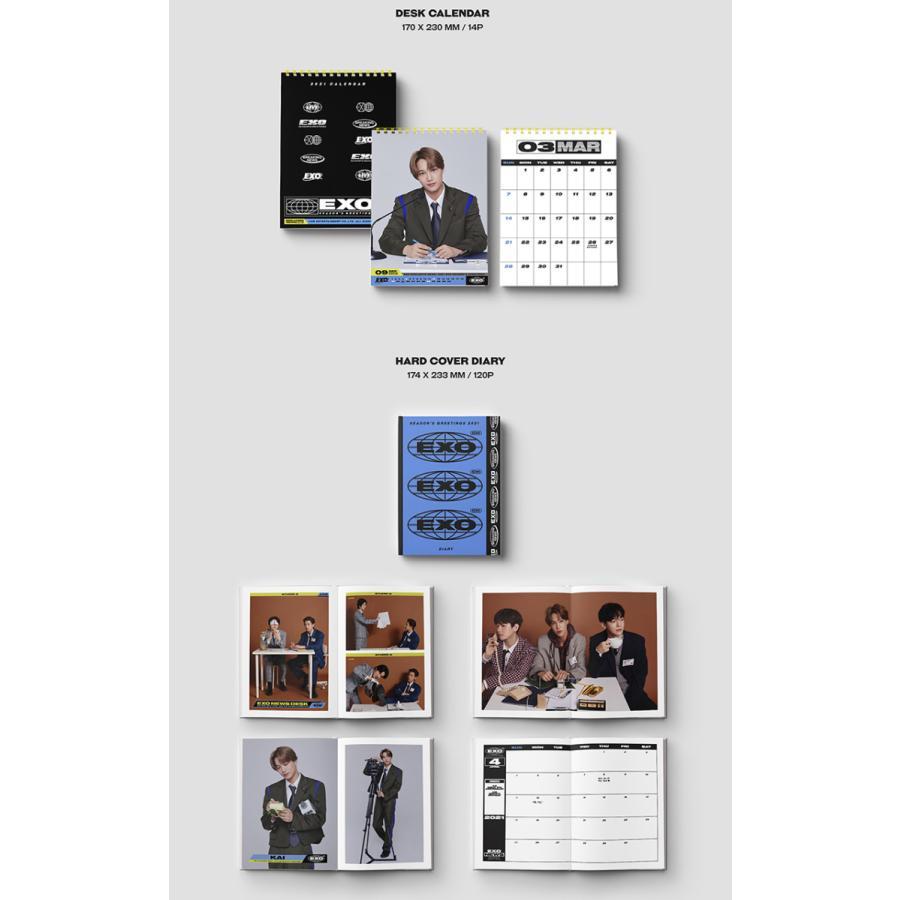 【当店限定特典(PHOTOCARD SET)】【SM ARTIST】【2021 SEASONS GREETINGS】 シーズン グリーティング カレンダー 東方神起 NCT EXO  1次予約 送料無料|shopandcafeo|13