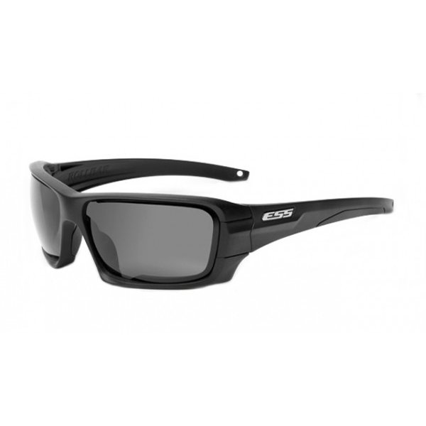 ESS ROLLBAR 正規品 イーエスエス ロールバー ブラック/シルバーロゴ スモークグレイ&クリアレンズ付 EE9018-03 ミディアムラージサイズ メンズ サングラス
