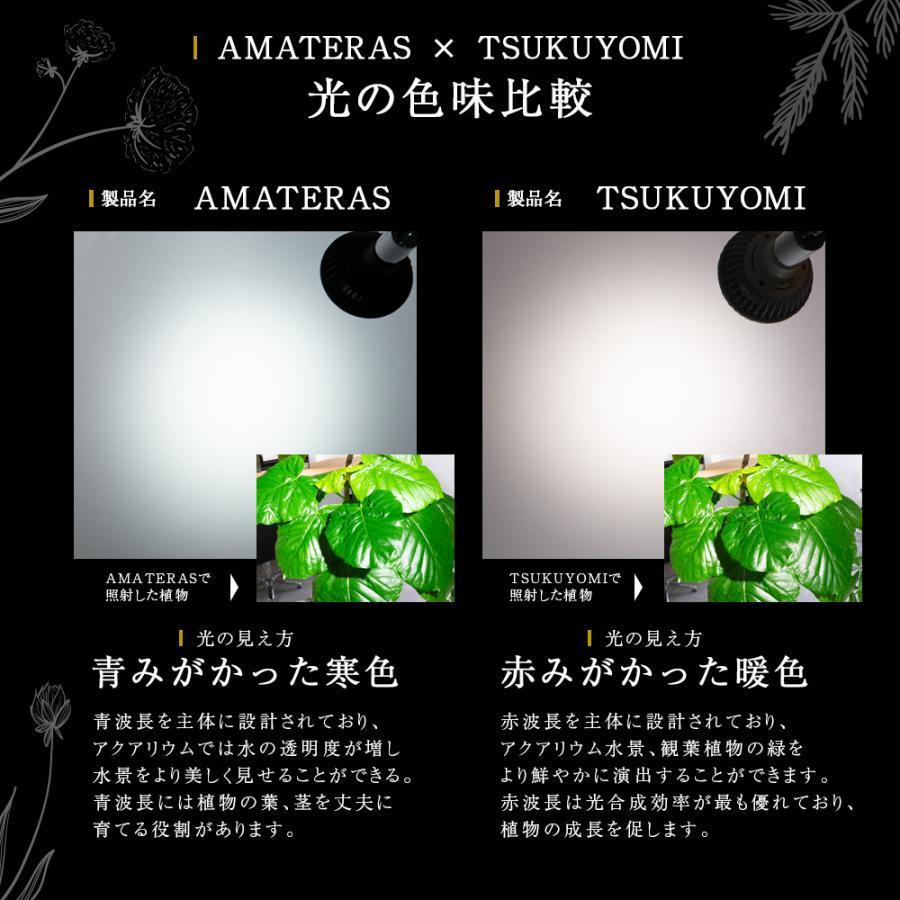 AMATERAS LED 20W 植物育成LED  太陽光LED アクアリウムLED テラリウム 室内太陽光LED ブラックボディ|shopbarrel|16