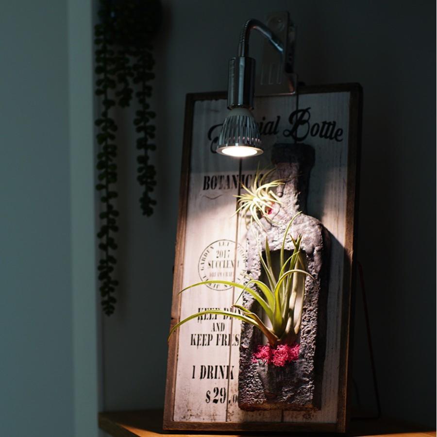 植物育成LED PlantLight5W-W 白色クリップタイプ(SUN-5W-W)+(プラントクリップB)観葉植物 植物栽培ライト アクアリウムライト E17|shopbarrel|03