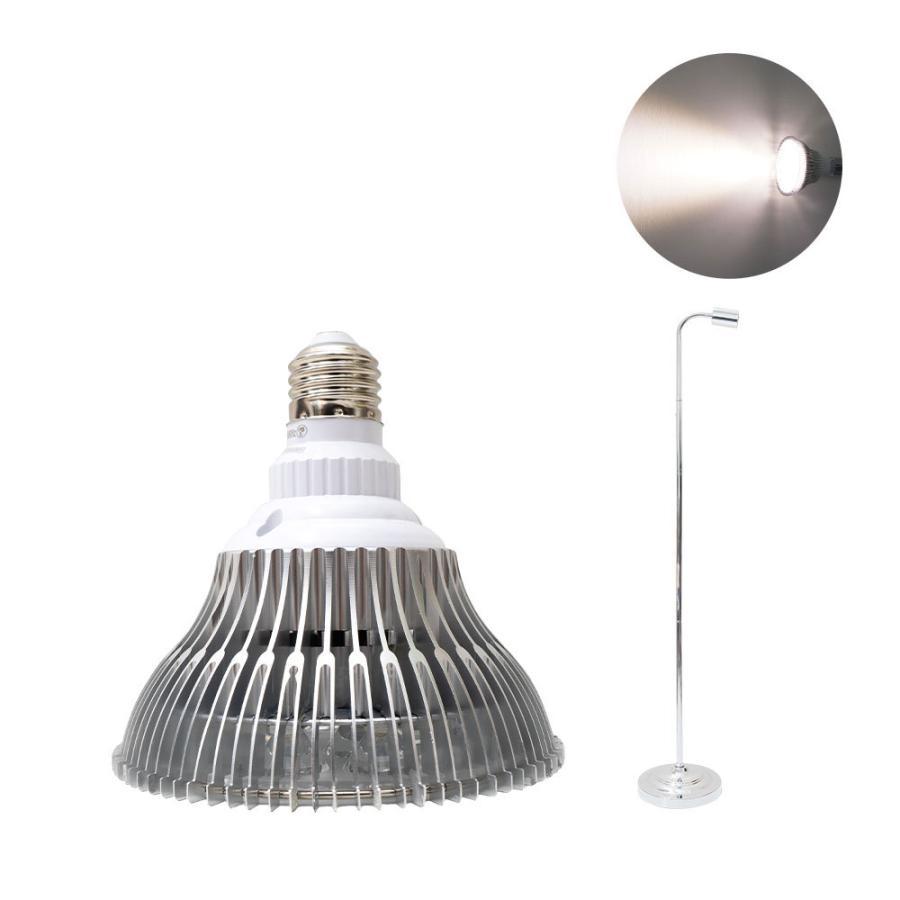 植物育成LED PlantLight18W 110cmスタンドタイプ(SUN-18W)+(プラントスタンドA)観葉植物 植物栽培ライト shopbarrel