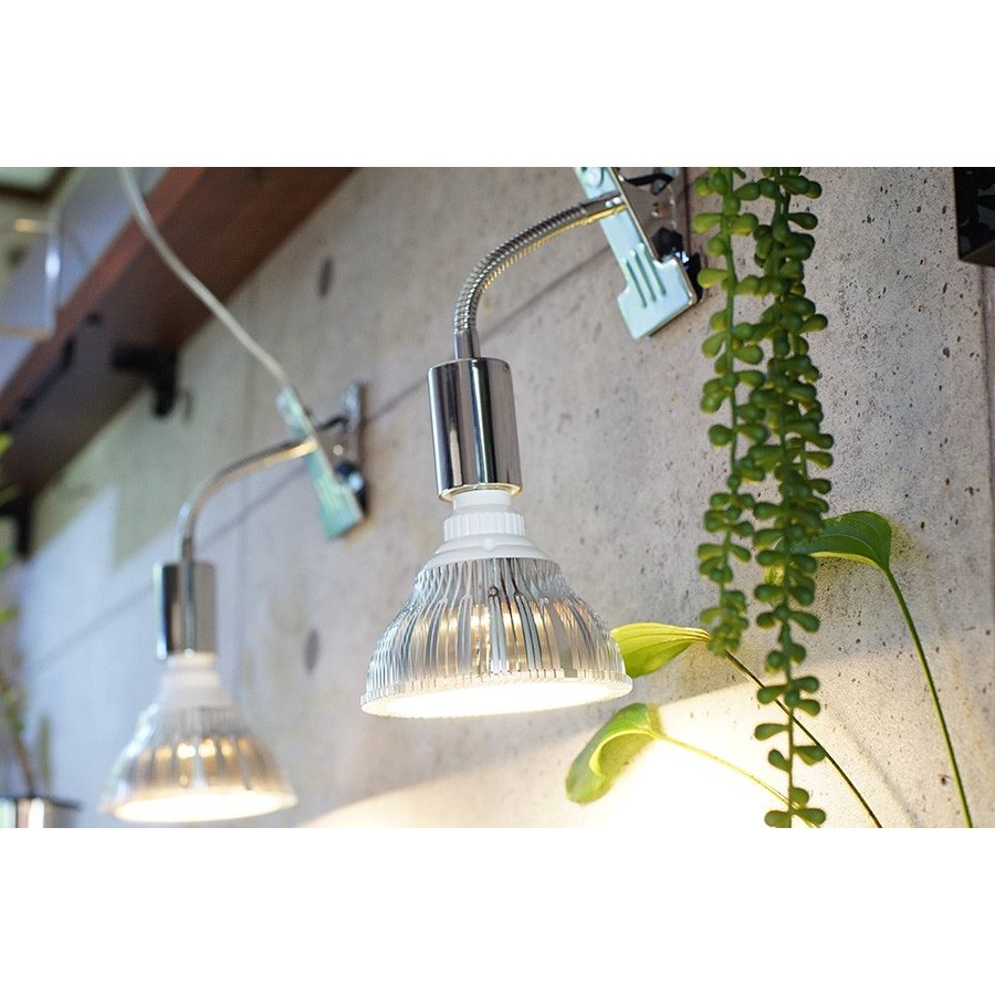 植物育成LED PlantLight18W 白色クリップタイプ(SUN-18W)+(プラントクリップA)観葉植物 植物栽培ライト|shopbarrel|10