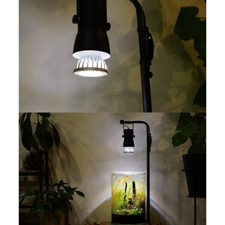 植物育成LED SUN-10W 白色電球 口径E17 +プラントクリップB(PlantLight10W)観葉植物 植物栽培ライト (電球のみ) shopbarrel 16