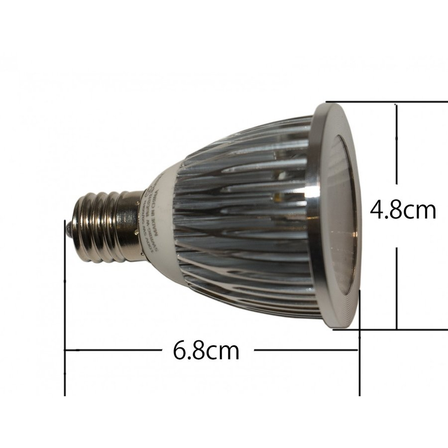 アクアリウム テラリウム 植物育成LED 口金 E17 SUN-5W-W 植物育成 (電球のみ)|shopbarrel|02