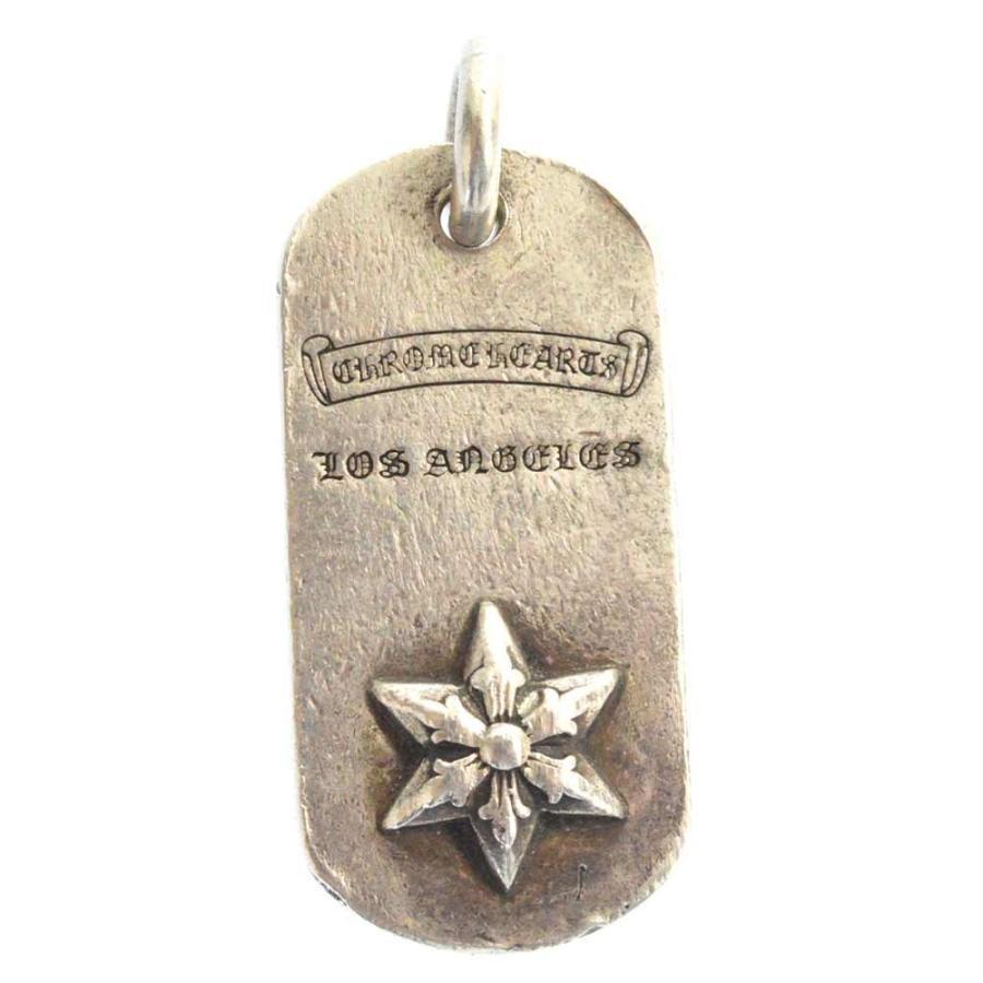 【保存版】 CHROME LA限定 HEARTS(クロムハーツ)RAISED DOGTAG STAR レイズドスターシルバードッグタグ DOGTAG STAR LA限定, アツミチョウ:dd7b83c5 --- airmodconsu.dominiotemporario.com
