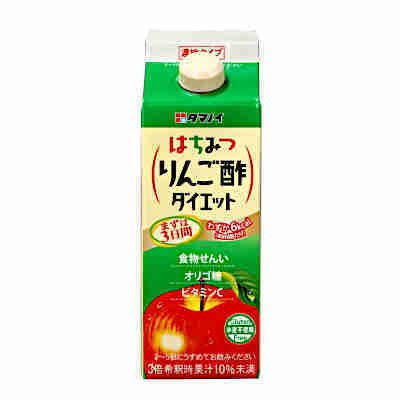 送料無料 はちみつ りんご酢 ダイエット 濃縮タイプ タマノイ酢 500ml パック 12本入×2ケース