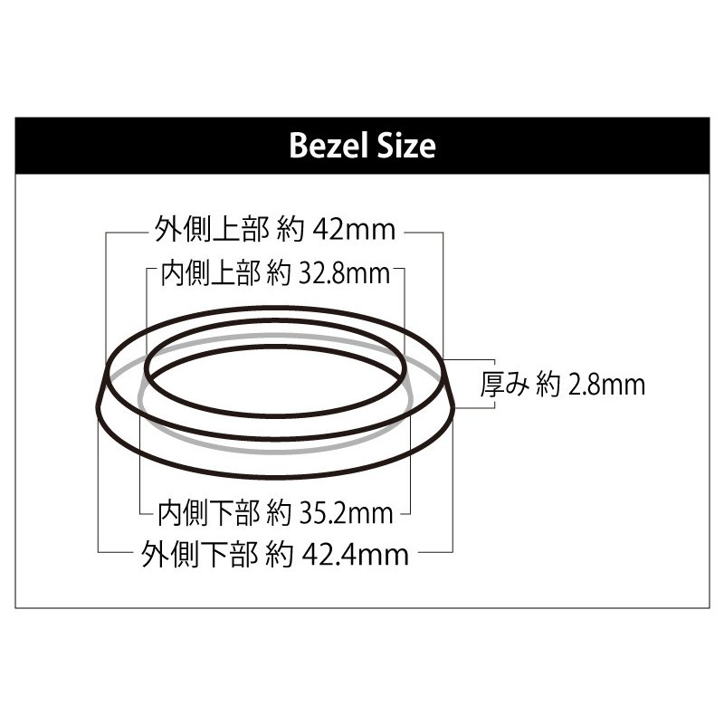HUBLOT ウブロ ビッグバン 44mm用 ダイヤ ベゼル  色 ゴールド /シルバー /ブラック /  パケットダイヤ|shopduo|04