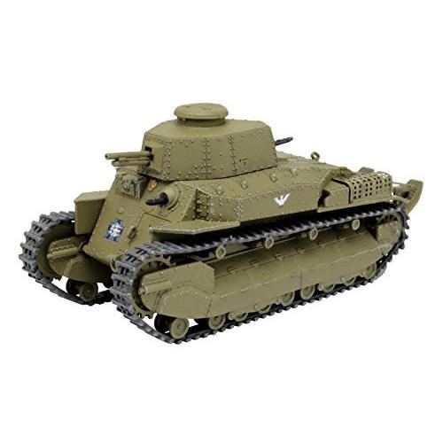 プラッツ ガールズ&パンツァー劇場版 八九式中戦車甲型 アヒルさんチーム 1/72スケール 全長約80mm プラモデル GP72-13|shopforest-japan