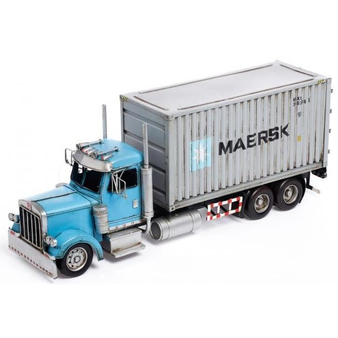 ブリキのおもちゃ トレーラー(trailer) 27604