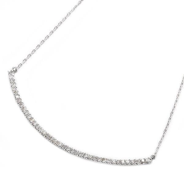 大人気新品 ダイヤモンド ネックレス ネックレス K10 ホワイトゴールド スマイリー 0.2ct K10 40石 スマイリー ダイヤネックレス ペンダント, ココビーチ:0a8cc79a --- airmodconsu.dominiotemporario.com