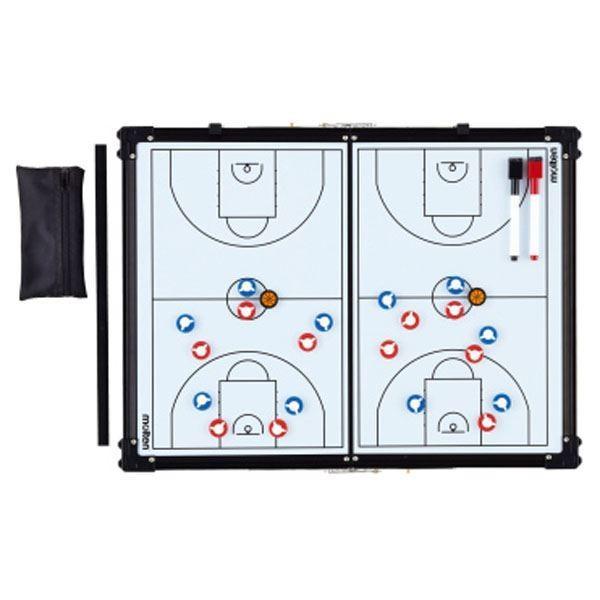 〔モルテン Molten〕 バスケットボール用品/備品 〔折りたたみ式 作戦盤〕 縦45×横60cm SB0070 〔運動 スポーツ用品〕