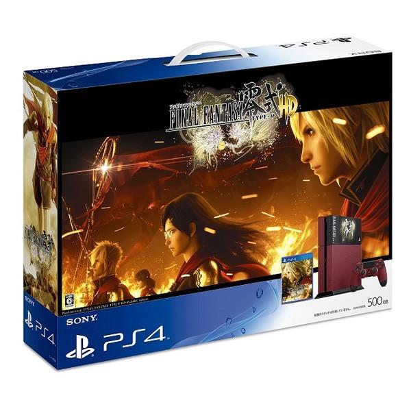 PlayStation 4 FINAL FANTASY 零式 HD 朱雀エディション【新品】【在庫あり】【48時間以内出荷】