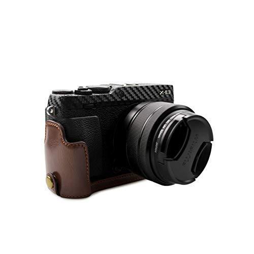 kinokoo FUJIFILM 富士フイルム X-E3 専用 カメラケース ボディケース バッテリーの交換でき (コーヒーA) shopkimagure 02
