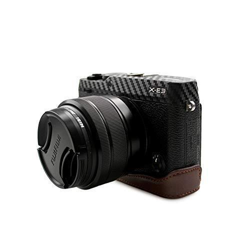 kinokoo FUJIFILM 富士フイルム X-E3 専用 カメラケース ボディケース バッテリーの交換でき (コーヒーA) shopkimagure 03